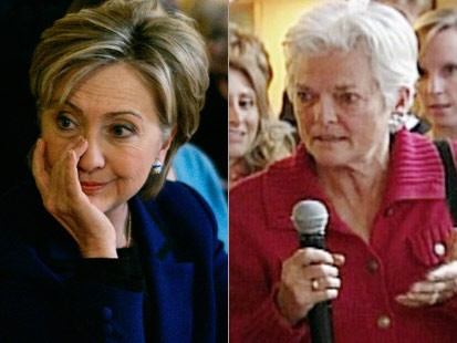 Woman Who Made Hillary Cry Voted for Obama