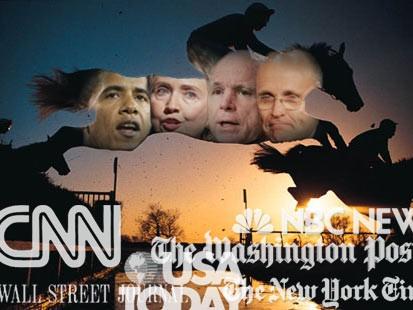 Political Media Horse Race