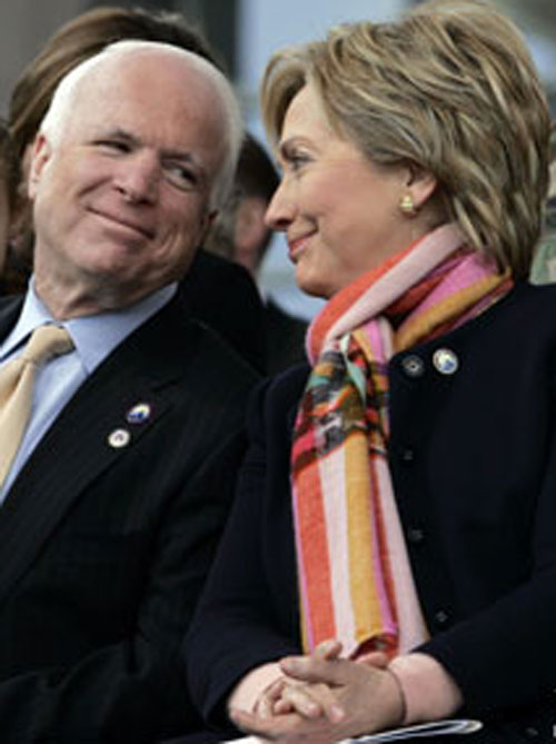 McCain and Clinton Get Huge New Hampshire Bounce