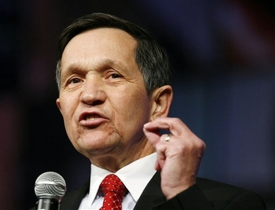 Kucinich Quits White House Race