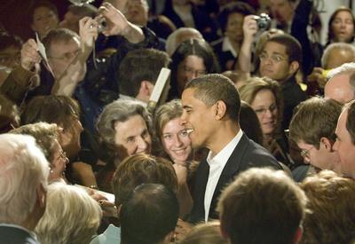 Obama Mania Continues