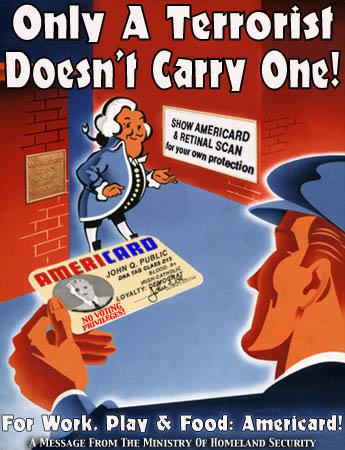 Real ID Propaganda Poster