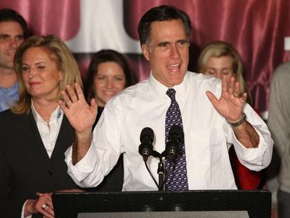 Michigan Primary Results: Romney, Clinton Win