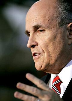 Giuliani Shrugs Off Iowa with 9/11 Reference Senne/AP