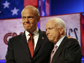 Fred Thompson Quitting to Back McCain