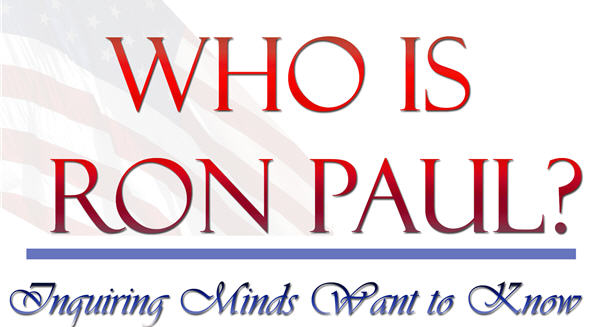 Who Is Ron Paul Sign