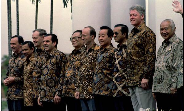 APEC 1993 Clinton