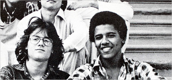 How Much Reefer Did Barack Obama Toke? Max Whittaker for The New York Times Barack Obama, then known as Barry, in a 1978 senior yearbook photo at the Punahou School in Honolulu. At Punahou, a preparatory school that had few black students, he talked with friends about race, wealth and class.