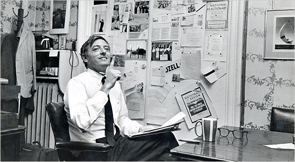 William F. Buckley, Jr. Dead at 82 William F. Buckley Jr. in his office at the National Review in 1965.