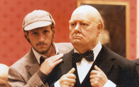 Winston Churchill a Myth, Sherlock Holmes Real