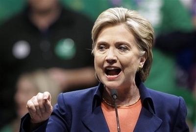 Hillary Clinton Says Democrats Must 'Get Real'