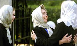 Hillary Clinton Muslim Garb