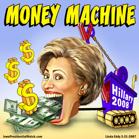 Where Hillary Clinton's Money Went