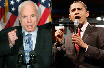 McCain's Advantages Over Clinton in Fighting Obama