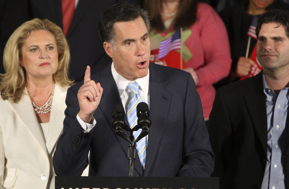 Mitt Romney Quitting?