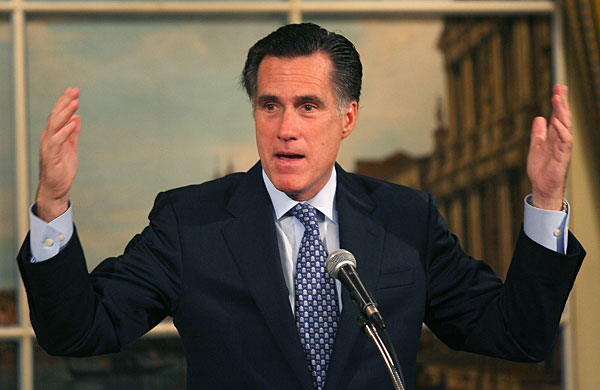 The Ever Changing Mitt Romney