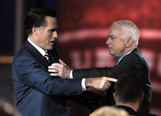 Romney Endorsing McCain