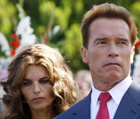 Arnold Schwarzenegger and Maria Shriver Photo