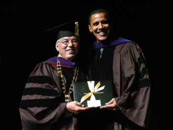 Obama Not Law Professor, Just Taught at Law School