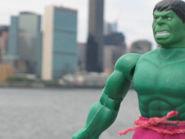 Hulk Smash United Nations Does McCain Want to Kill the UN?