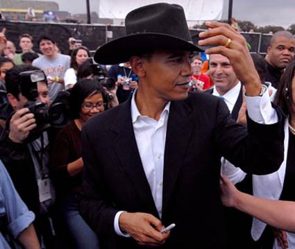 Obama Won Texas Barack Obama Cowboy Hat