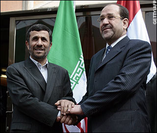 Talani and Ahmadinejad
