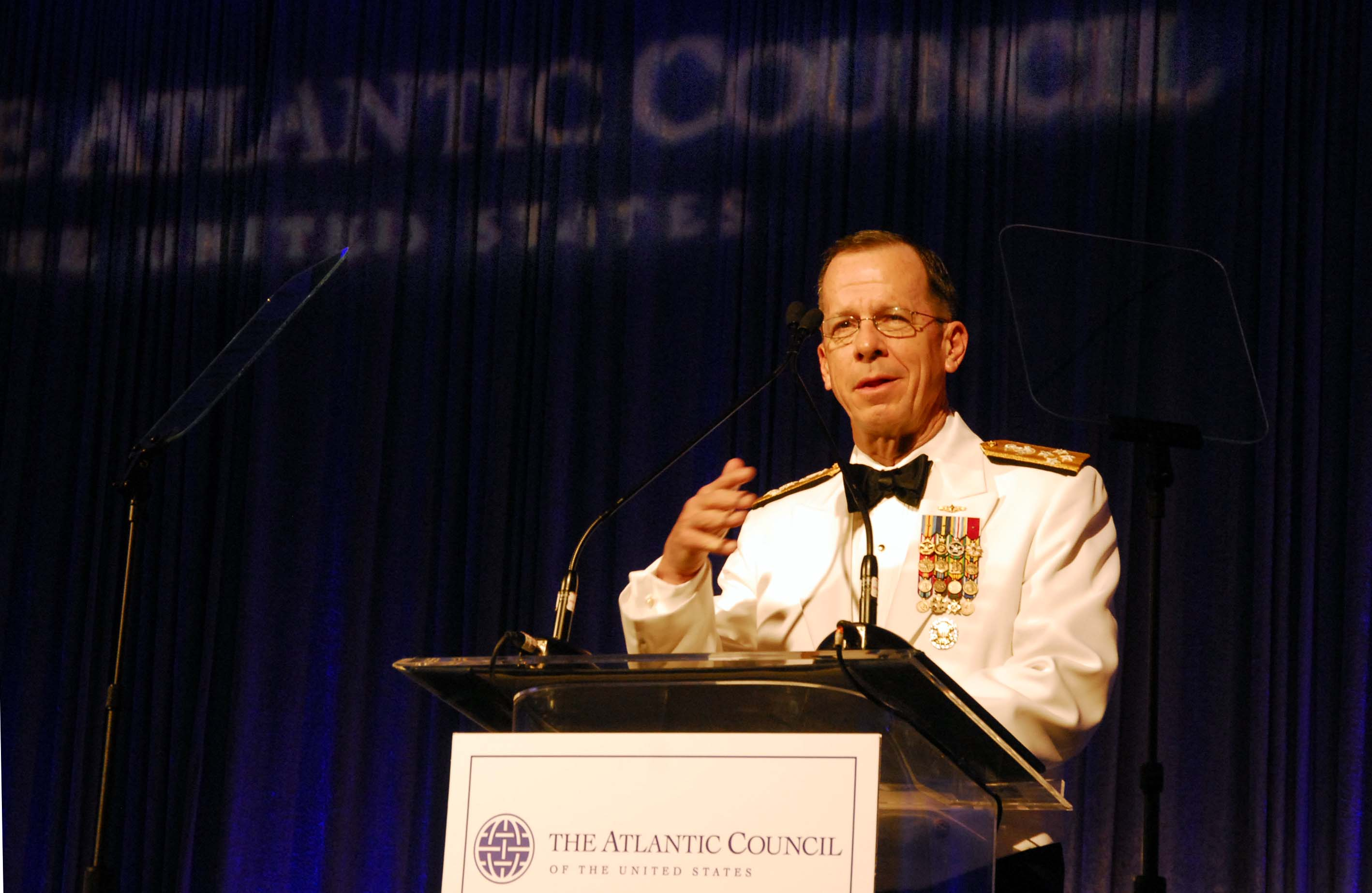 Mullen: We 'Will Have to Deal with Iran in the Very Near Future' Atlantic Council