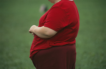 Obese Feel More Discrimination Karen Kasmauski / Corbis