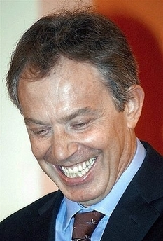 Tony Blair 'Caught Riding Without a Ticket' Photo