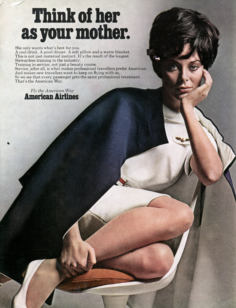 American Airlines Think of Her as Your Mother Ad