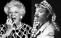 Barbara Bush Arafat Photo