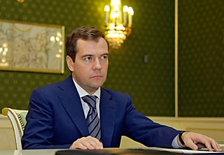 Dmitri Medvedev, Music Lover ENIGMATIC LAWYER: Dmitri Medvedev takes the presidency Wednesday from Vladimir Putin, under whom he's worked for much of the last 15 years. Though holding high positions, he's stayed largely in the background, making him largely unknown to the public. Dmitry Astakhov/AP/