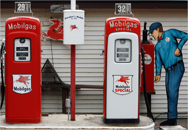 Inflation Not as Bad as You Think? Jim Cole/Associated Press Pumps show gasoline prices in Newbury, N.H., in the 1960s. Federal Reserve officials base interest rates on underlying price trends, instead of being overly influenced by gas or food prices.