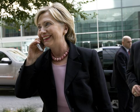 Hillary Clinton Telephone Photo