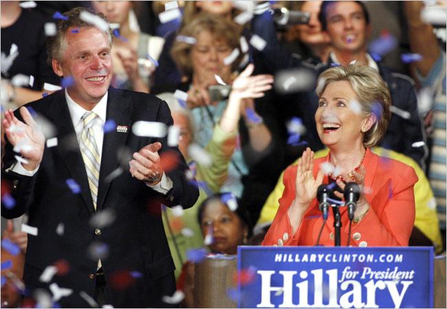 Hillary Clinton Wins West Virginia