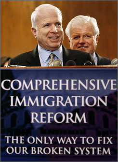 McCain Still the Same on Immigration Reform!