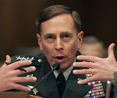 Petraeus Gesturing Photo