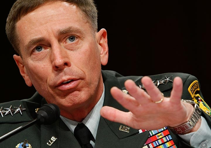 Petraeus: Diplomacy, Not Force, With Iran