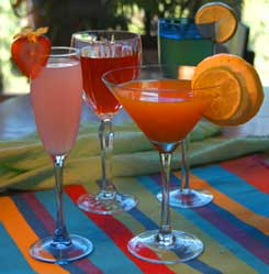 Summer Drink List