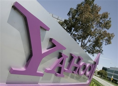 Yahoo Bans Bad Sites from Search Results - This April 30, 2008 file photo shows an exterior view of Yahoo headquarters in Sunnyvale, Calif. Microsoft Corp. has withdrawn its $42.3 billion bid to buy Yahoo Inc., scrapping an attempt to snap up the tarnished Internet icon in hopes of toppling online search and advertising leader Google Inc. The decision to walk away from the deal came Saturday May 3, 2008 after last-ditch efforts to negotiate a mutually acceptable sale price proved unsuccessful. (AP Photo/Paul Sakuma, File)