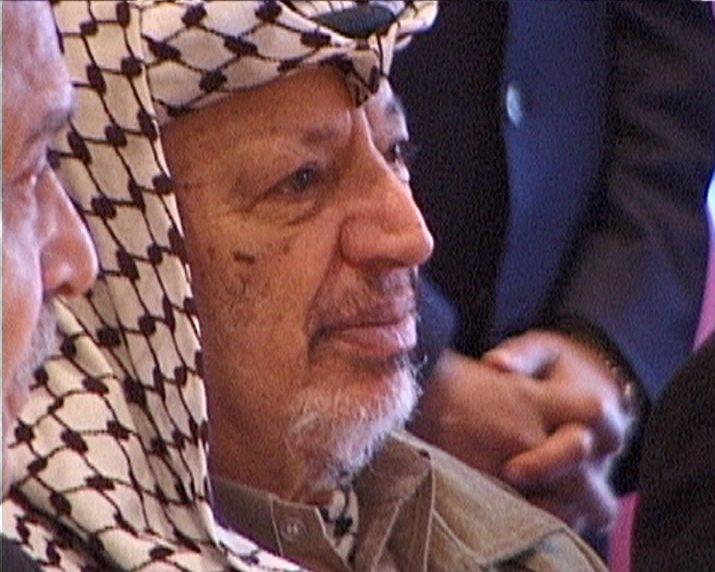 Yasser Arafat keffiyeh photo