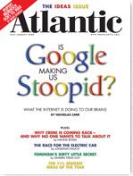 Google Making Stupid - Atlantic Cover
