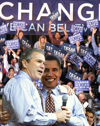 Obama 2008's George W. Bush