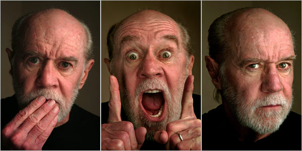 George Carlin Dies at 71 (2004 Photos) George Carlin at the Royal Regal Hotel in Manhattan in 2004 (Vincent Laforet/The New York Times )