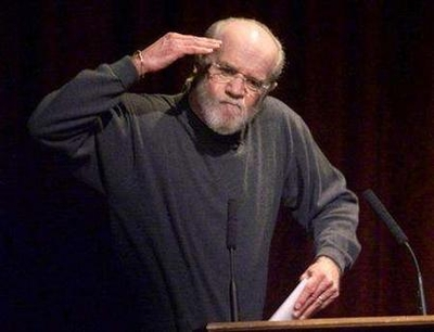 George Carlin Dies at 71 (2007 Photo) Comedian George Carlin salutes his audience at the historic Wheeler Opera House in Aspen, Colorado, in this March 2, 2002 file photo. REUTERS/Gary C. Caskey/Files