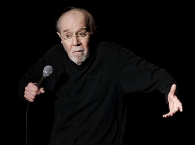 George Carlin Dies at 71 (2007 Photo) In a Feb. 28, 2007, file photo comedian George Carlin opens the 13th annual U.S. Comedy Arts Festival at the Wheeler Opera House in Aspen, Colo. A publicist for George Carlin says the legendary comedian has died of heart failure at a hospital in Santa Monica, Calif., Sunday June 22, 2008. (AP Photo/E. Pablo Kosmicki/file)