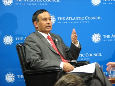 Pakistan Ambassador Hussein Haqqani Atlantic Council Photo
