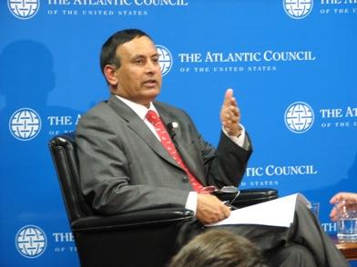 Pakistan Ambassador Hussein Haqqani Atlantic Council Photo