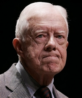 Jimmy Carter Scowl Photo