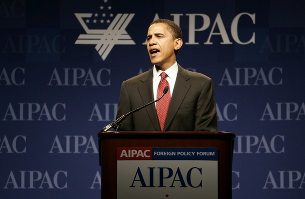 Obama's AIPAC Speech Photo